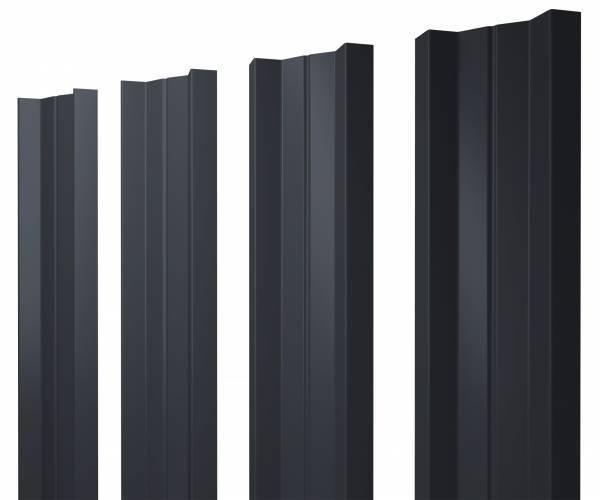 Штакетник М-образный 112мм
