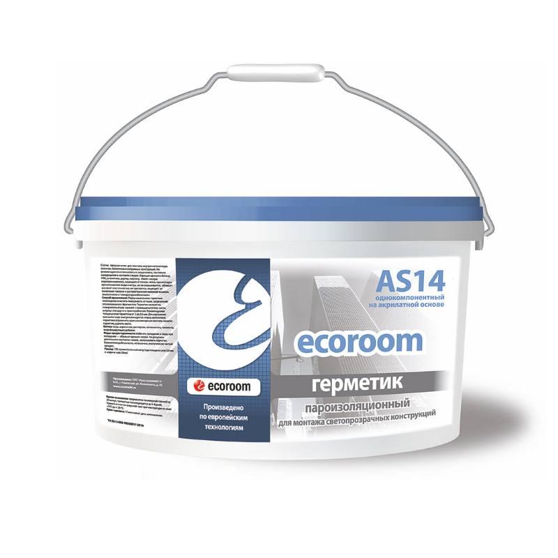 Герметик ECOROOM AS-14 для внутреннего шва (7 кг)