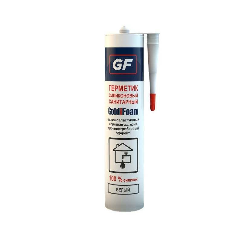 Герметик санитарный GOLDIFOAM белый (280 мл)