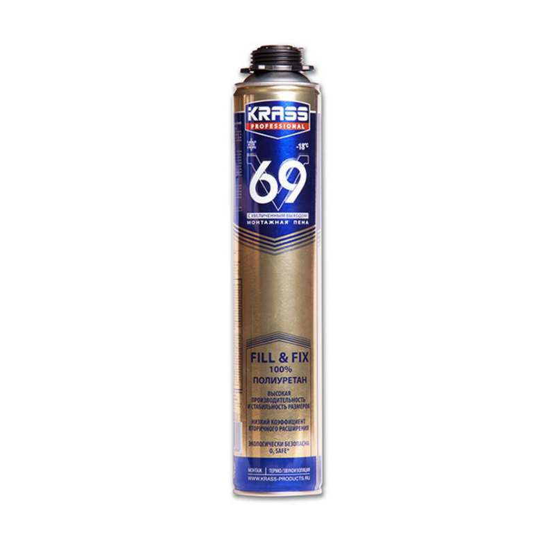 Пена монтажная KRASS Professional 69
