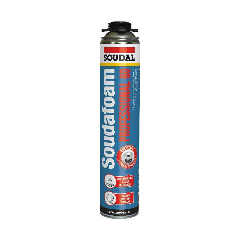 Пена монтажная SOUDAL Professional 60 (750 мл)