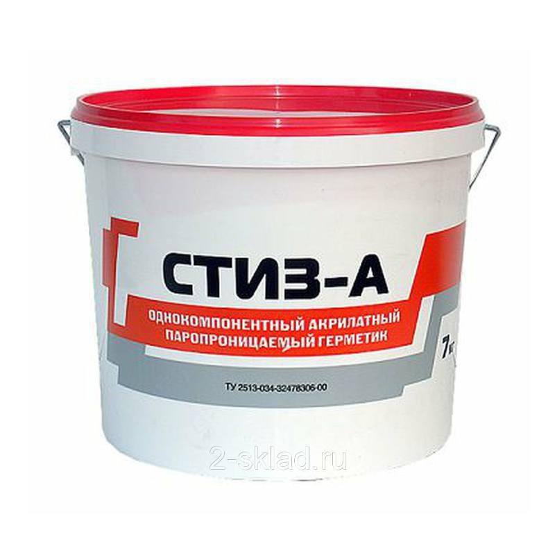 Герметик СТИЗ-А для внешнего шва (7 кг)